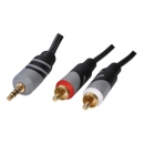Jack3.5mm - 2xcinch cable