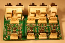 PCB side of the OutputBuffers