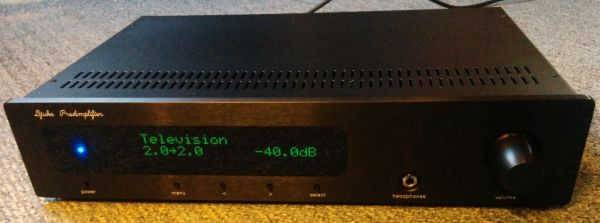 Preamplifier display